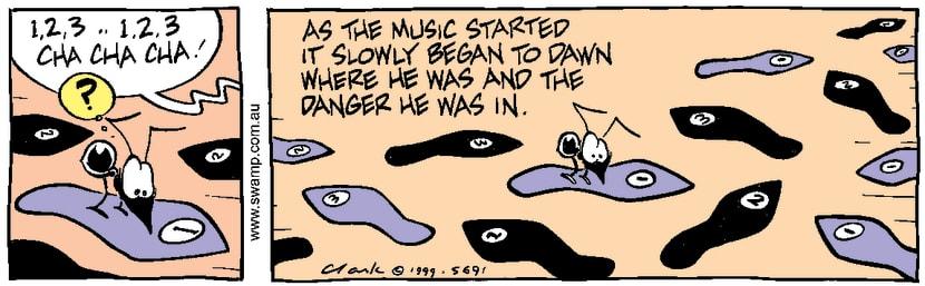 Swamp Cartoon - Ant DangerDecember 17, 1999