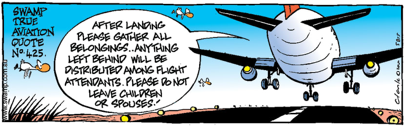 Swamp Cartoon - Aviation Quote No.425May 9, 2000