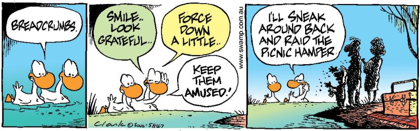Swamp Cartoon - Hidden TruthJune 15, 2000