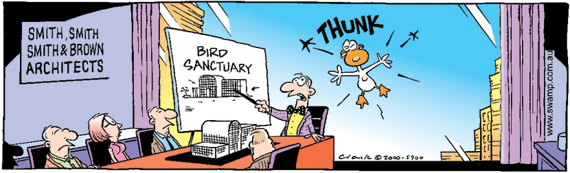 Swamp Cartoon - Bird Sanctuary PlanAugust 16, 2000