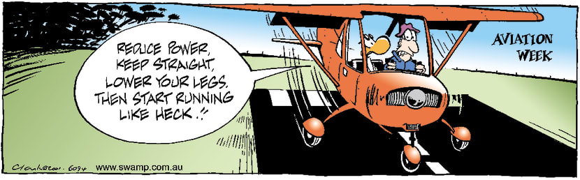 Swamp Cartoon - Aviation Week 4March 30, 2001