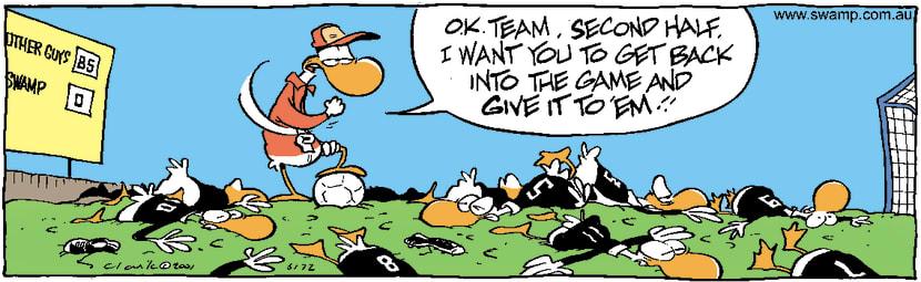 Swamp Cartoon - Second HalfJune 29, 2001