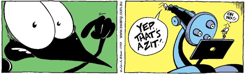 Swamp Cartoon - Puberty BluesAugust 28, 2001