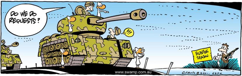 Swamp Cartoon - RequestsSeptember 10, 2001