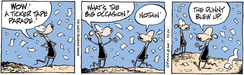 Swamp Cartoon - ParadeNovember 21, 2001