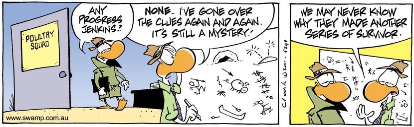 Swamp Cartoon - MysteryNovember 23, 2001