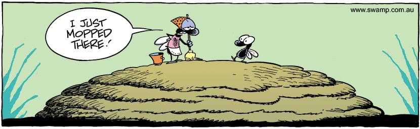 Swamp Cartoon - Clean HomeDecember 3, 2001
