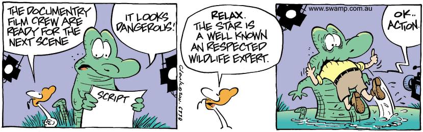 Swamp Cartoon - Swamp ScriptJanuary 9, 2002
