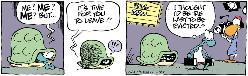 Swamp Cartoon - Why MeMarch 4, 2002
