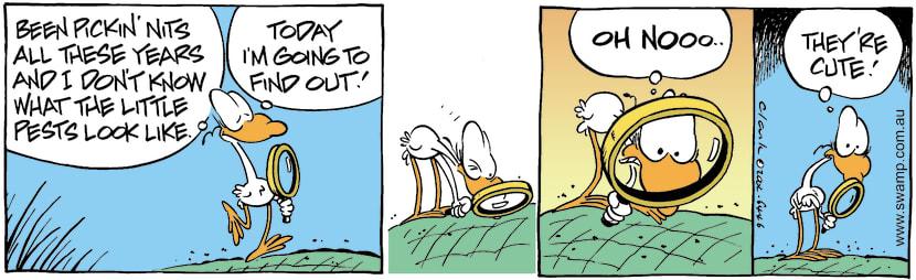 Swamp Cartoon - Nit PickinMay 15, 2002