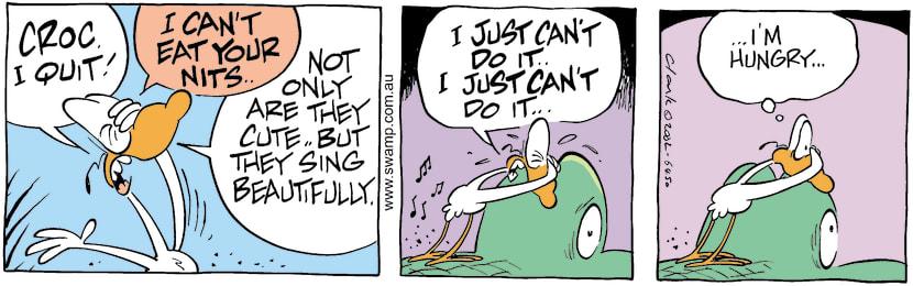Swamp Cartoon - No NitpickingMay 20, 2002