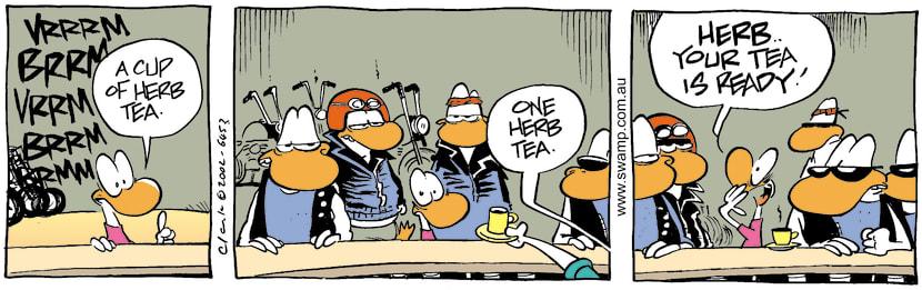 Swamp Cartoon - HerbMay 23, 2002