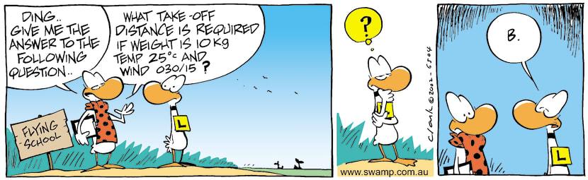 Swamp Cartoon - TestJuly 22, 2002