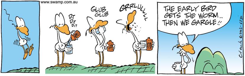 Swamp Cartoon - TastyAugust 21, 2002
