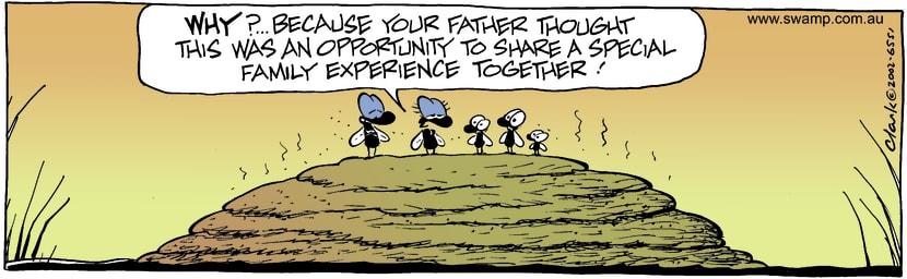 Swamp Cartoon - WhySeptember 14, 2002