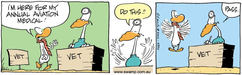 Swamp Cartoon - MedicalSeptember 18, 2002