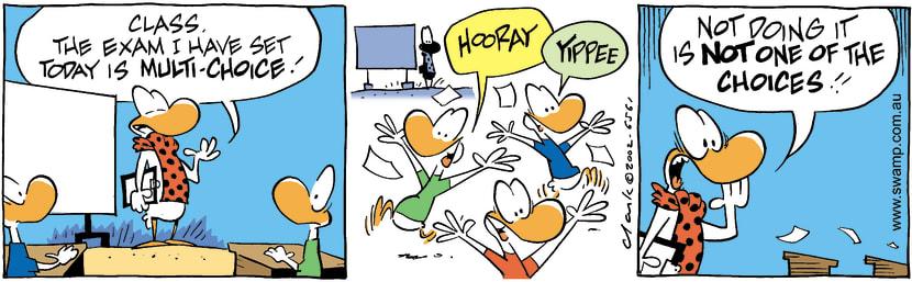 Swamp Cartoon - TestSeptember 26, 2002