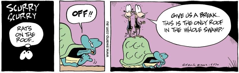 Swamp Cartoon - RatsOctober 7, 2002