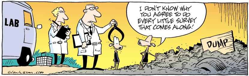 Swamp Cartoon - LabOctober 23, 2002