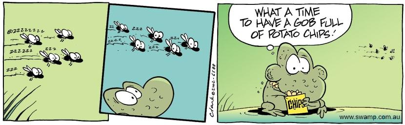 Swamp Cartoon - Bad TimingOctober 28, 2002
