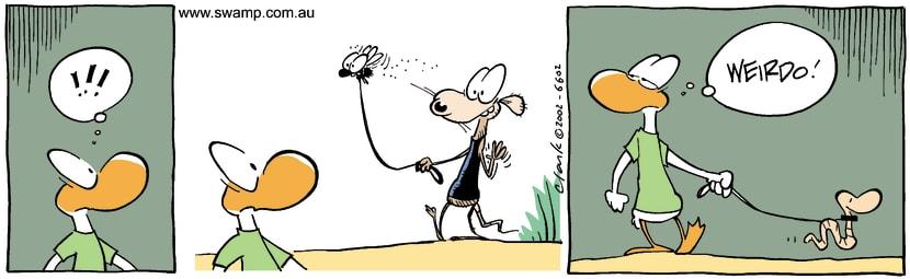 Swamp Cartoon - Pet WalkNovember 13, 2002