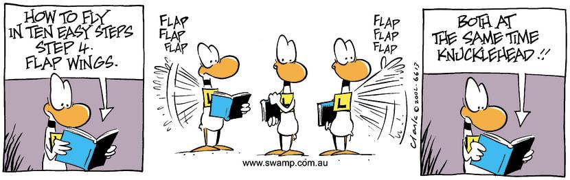 Swamp Cartoon - Step 4November 26, 2002