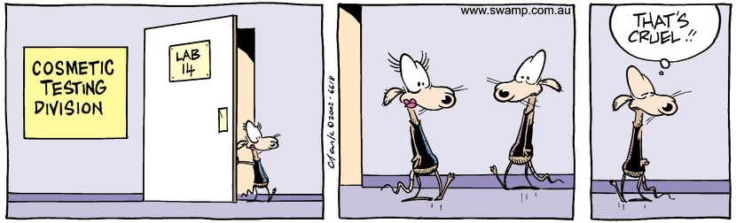 Swamp Cartoon - Lab 1December 2, 2002