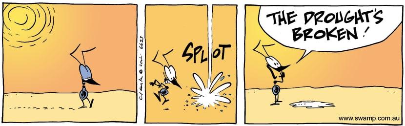 Swamp Cartoon - HotDecember 7, 2002