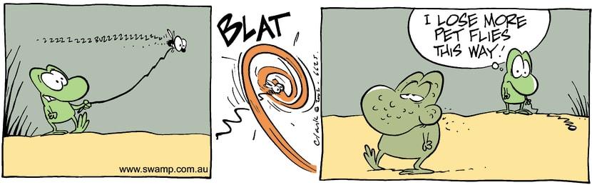 Swamp Cartoon - WalkDecember 10, 2002
