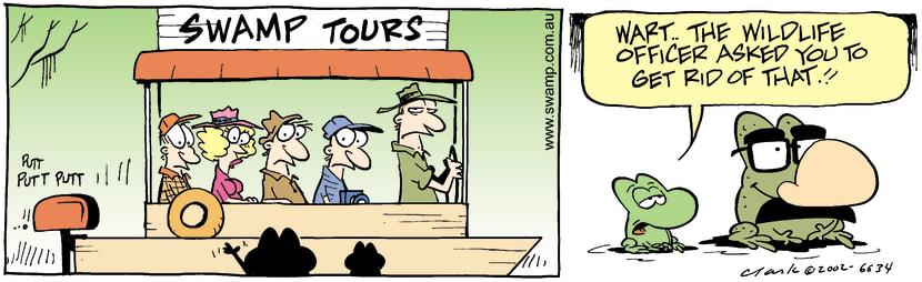 Swamp Cartoon - SmileDecember 20, 2002