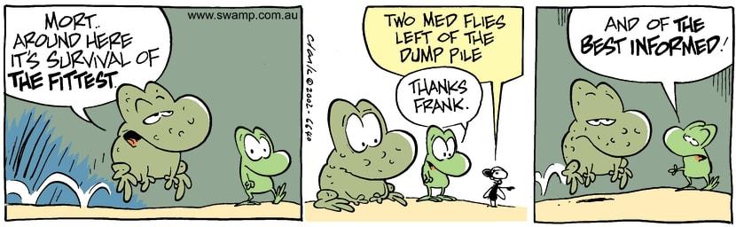 Swamp Cartoon - SurvivalDecember 27, 2002