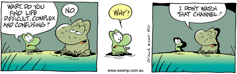 Swamp Cartoon - LifeJanuary 27, 2003