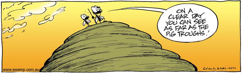 Swamp Cartoon - High ViewJanuary 30, 2003