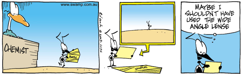 Swamp Cartoon - Ant Photos 1February 27, 2003