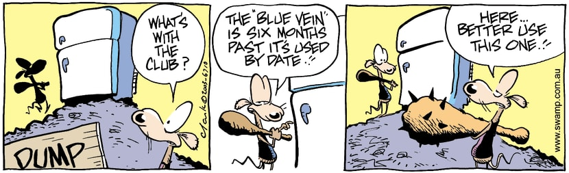 Swamp Cartoon - ClubMarch 18, 2003