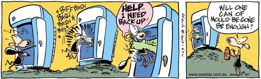Swamp Cartoon - Club 2March 19, 2003