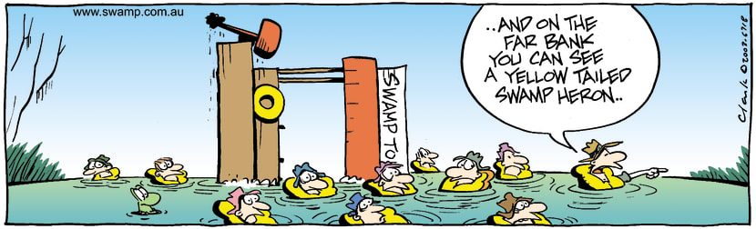 Swamp Cartoon - Wet TourMarch 27, 2003