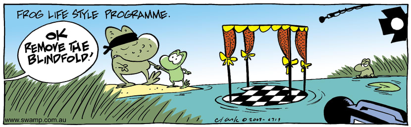 Swamp Cartoon - Frog StyleMarch 28, 2003
