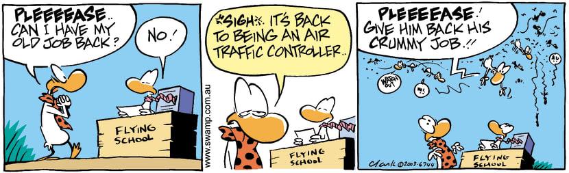 Swamp Cartoon - BegApril 26, 2003