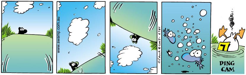 Swamp Cartoon - SpinJune 13, 2003