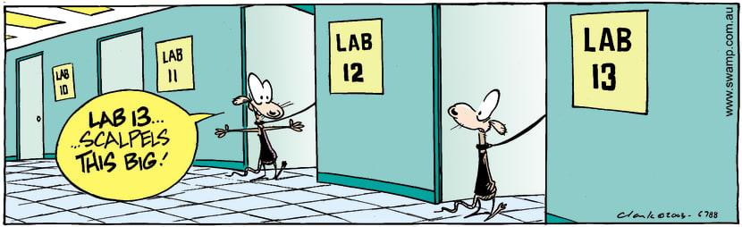 Swamp Cartoon - Lab 13June 17, 2003