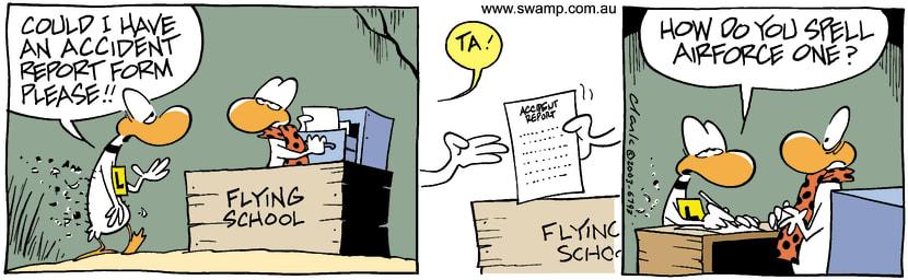 Swamp Cartoon - ReportJune 23, 2003