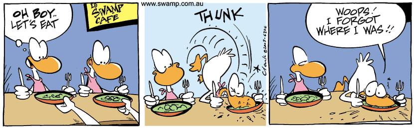 Swamp Cartoon - CafeJuly 5, 2003