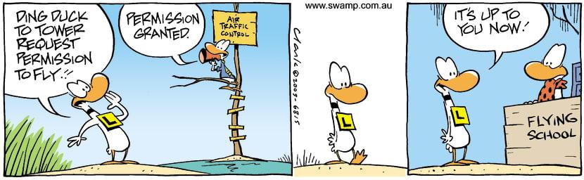 Swamp Cartoon - PermissionJuly 18, 2003