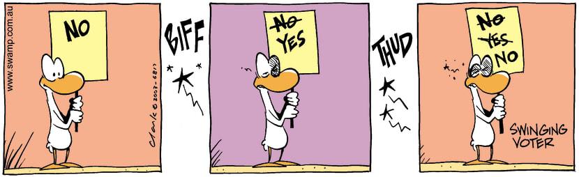 Swamp Cartoon - SignJuly 21, 2003