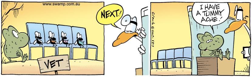 Swamp Cartoon - VetJuly 23, 2003