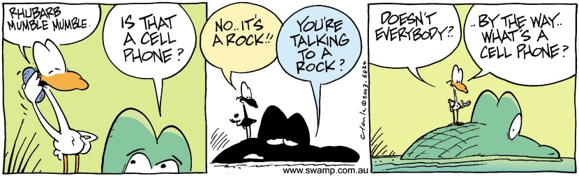 Swamp Cartoon - RockJuly 29, 2003