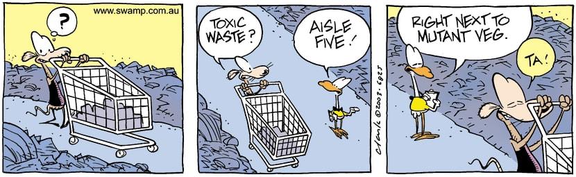 Swamp Cartoon - ShoppingJuly 30, 2003