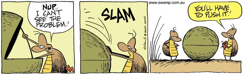 Swamp Cartoon - MechanicJuly 31, 2003