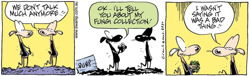 Swamp Cartoon - TalkAugust 5, 2003